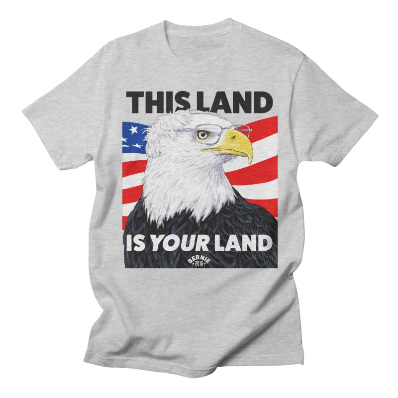 This Land Is Your Land Men's T-shirt by Bernie Threads
