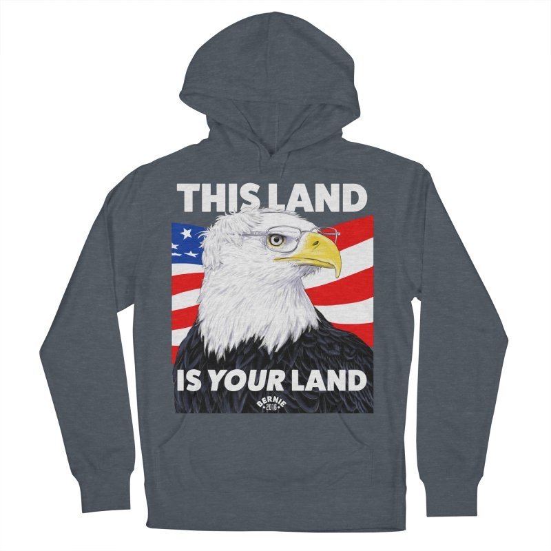 This Land Is Your Land (Dark Version) Men's Pullover Hoody by Bernie Threads