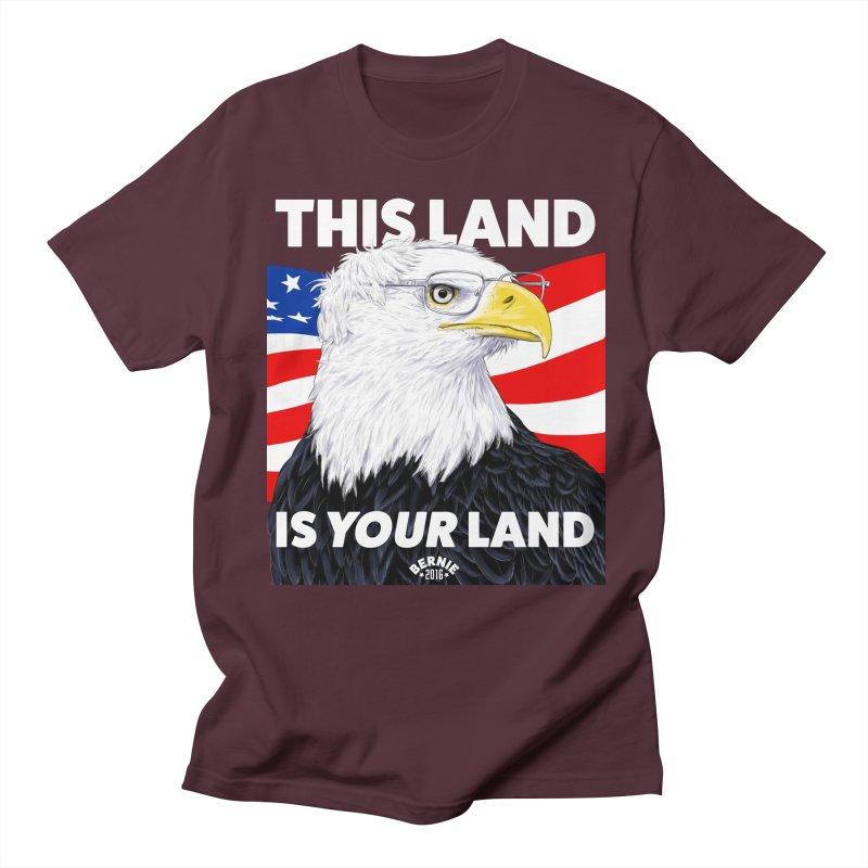This Land Is Your Land (Dark Version) Men's T-shirt by Bernie Threads