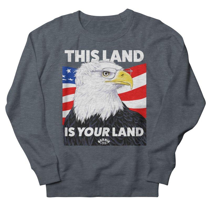 This Land Is Your Land (Dark Version) Women's Sweatshirt by Bernie Threads