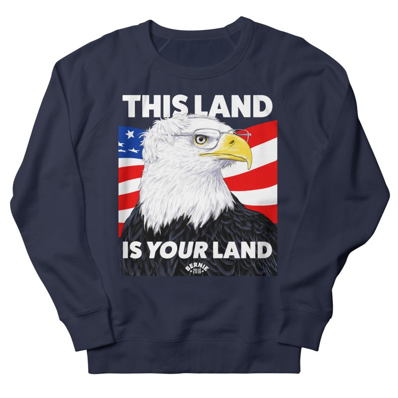 This Land Is Your Land (Dark Version) Women's Sweatshirt by Bernie Threads