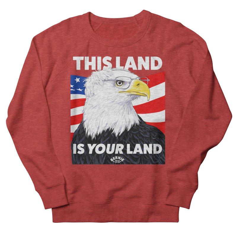 This Land Is Your Land (Dark Version) Men's Sweatshirt by Bernie Threads