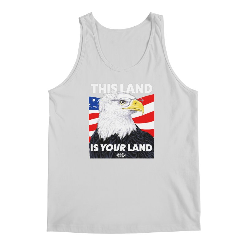 This Land Is Your Land (Dark Version) Men's Tank by Bernie Threads
