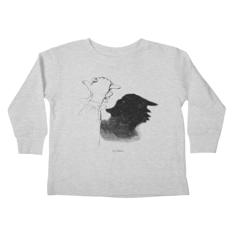 No Puppet. No Puppet. You're The Puppet. Kids Toddler Longsleeve T-Shirt by Bernie Threads