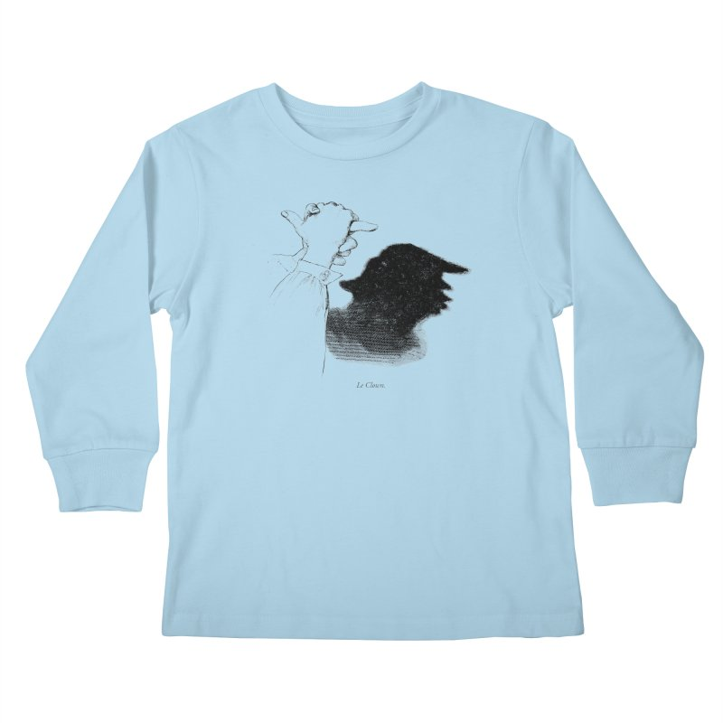 No Puppet. No Puppet. You're The Puppet. Kids Longsleeve T-Shirt by Bernie Threads