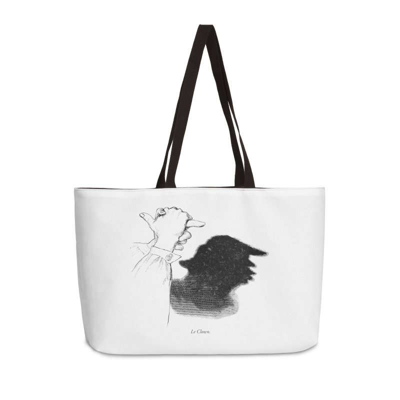 No Puppet. No Puppet. You're The Puppet. Accessories Weekender Bag Bag by Bernie Threads