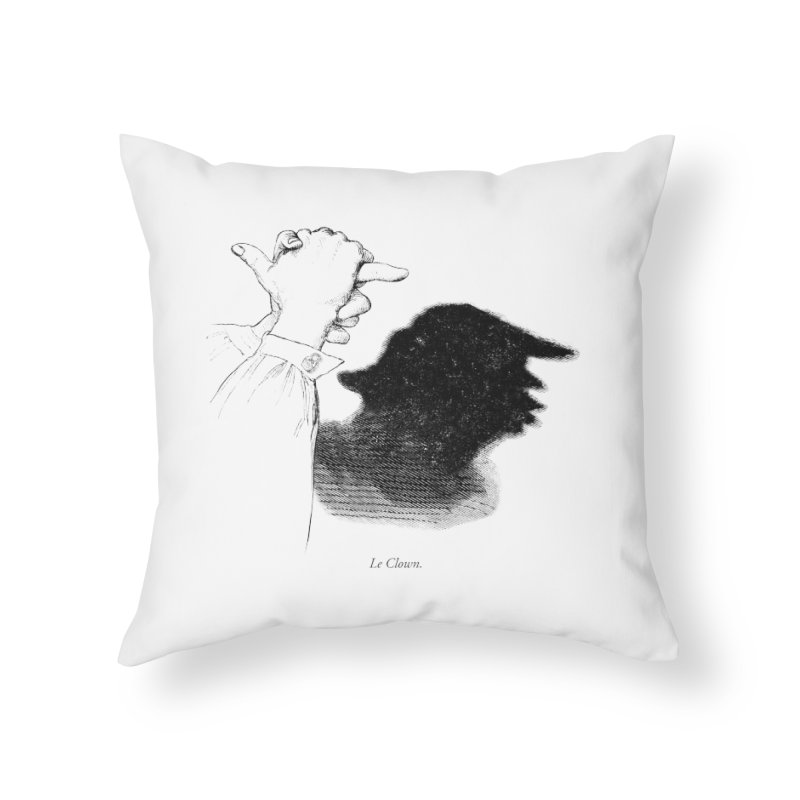 No Puppet. No Puppet. You're The Puppet. Home Throw Pillow by Bernie Threads