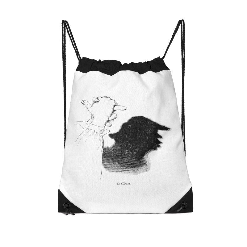 No Puppet. No Puppet. You're The Puppet. Accessories Drawstring Bag Bag by Bernie Threads