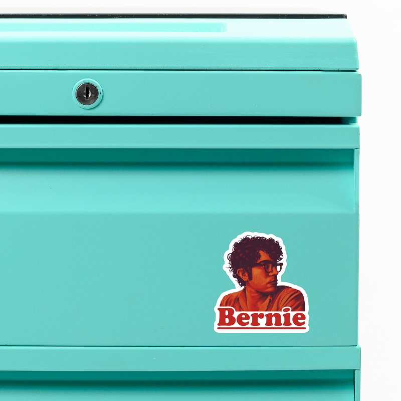 Young Bernie Accessories Magnet by Bernie Threads