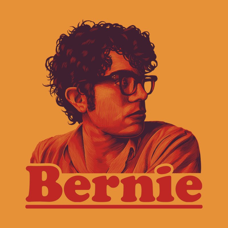 Young Bernie Men's Triblend T-Shirt by Bernie Threads