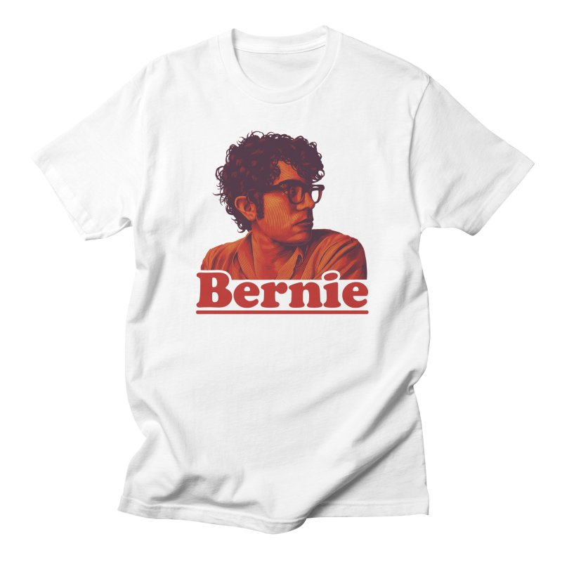 Young Bernie Men's T-Shirt by Bernie Threads