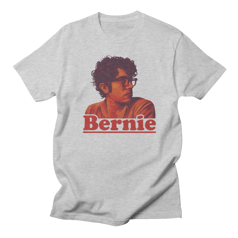Young Bernie Men's Regular T-Shirt by Bernie Threads