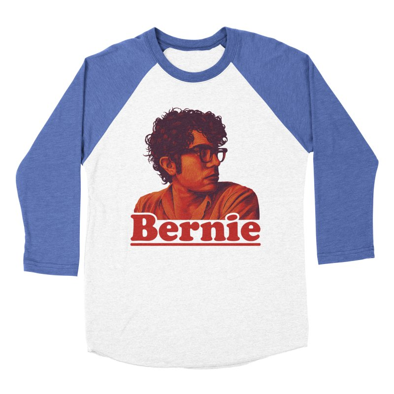 Young Bernie Women's Baseball Triblend Longsleeve T-Shirt by Bernie Threads