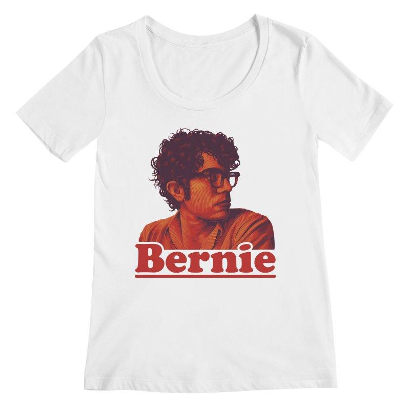 Young Bernie Women's Regular Scoop Neck by Bernie Threads