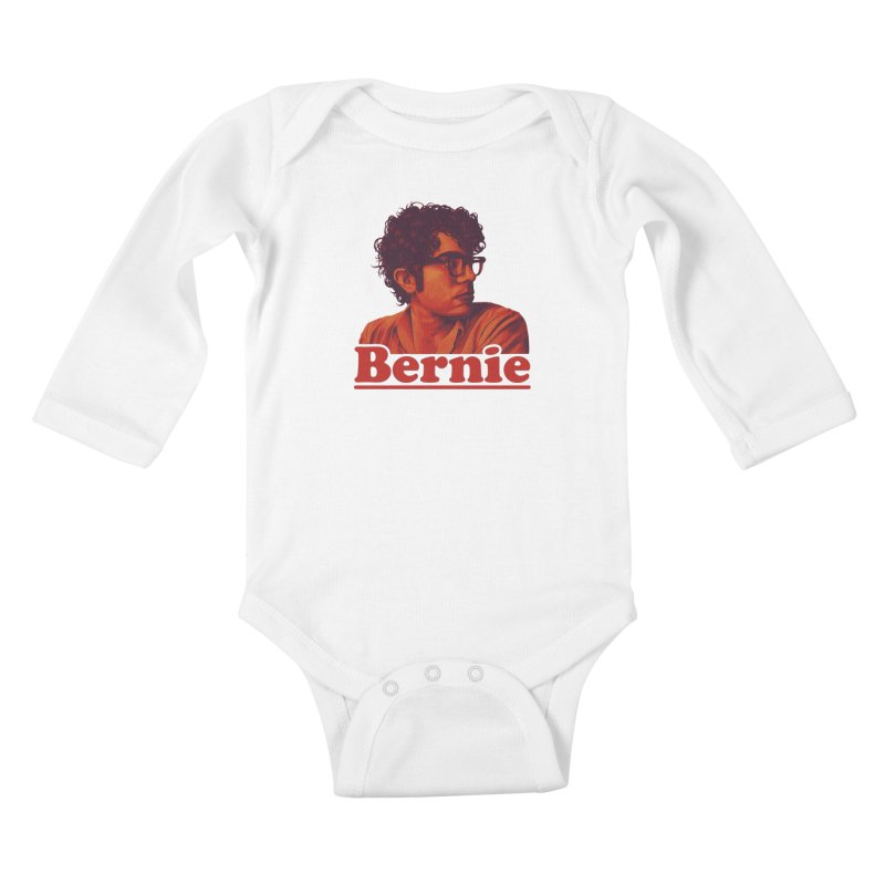 Young Bernie Kids Baby Longsleeve Bodysuit by Bernie Threads