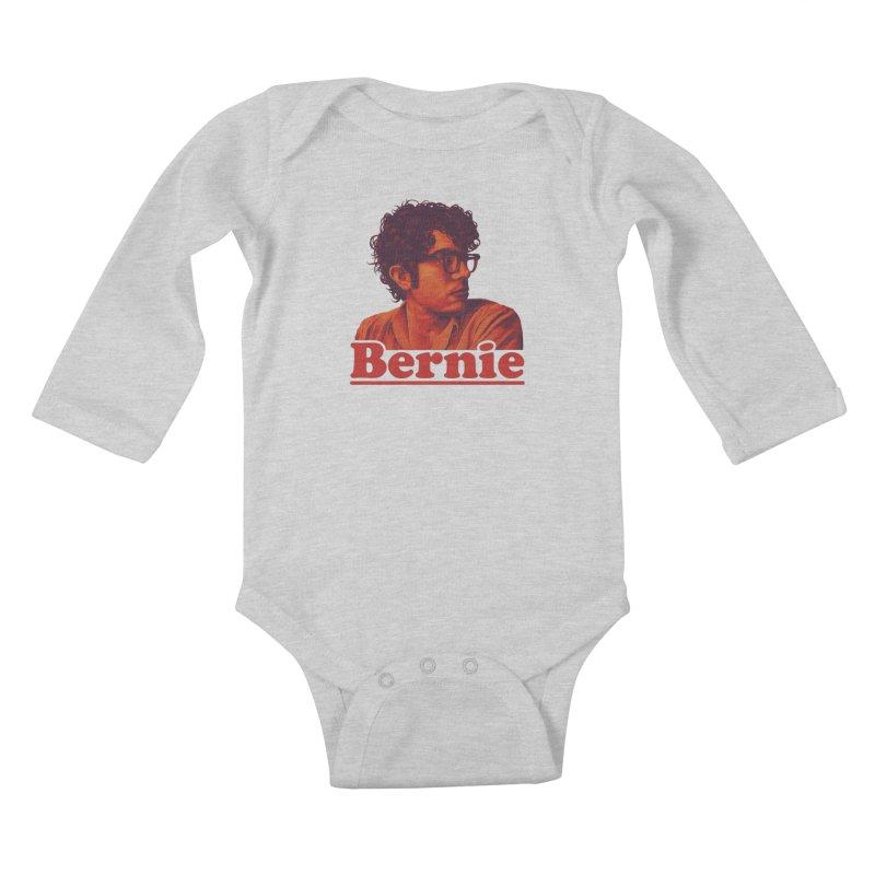 Young Bernie Kids Baby Longsleeve Bodysuit by Bernie Threads