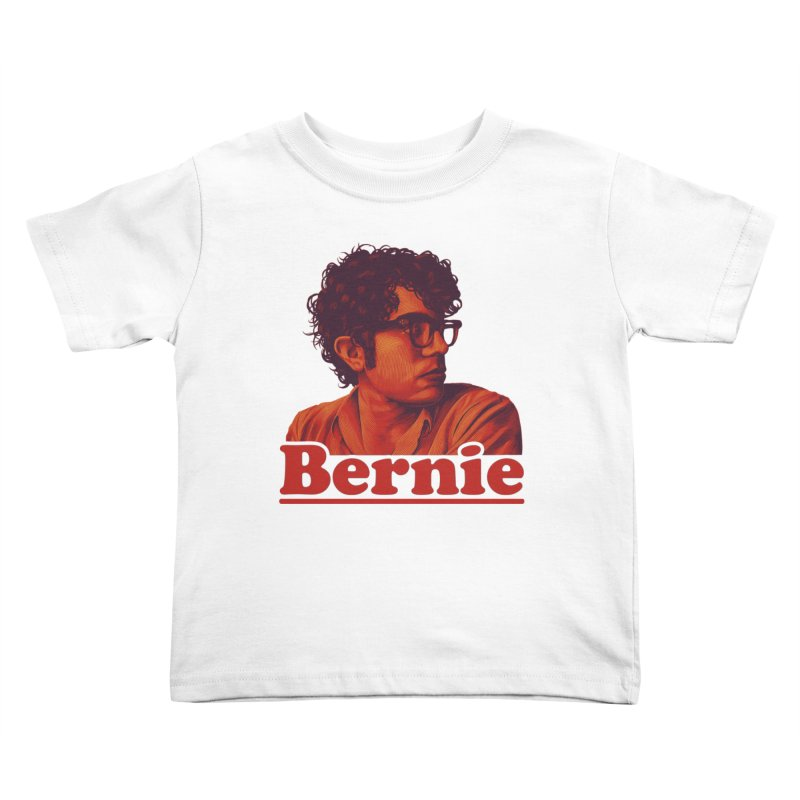 Young Bernie Kids Toddler T-Shirt by Bernie Threads