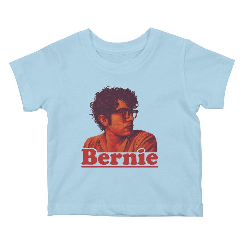 Young Bernie Kids Baby T-Shirt by Bernie Threads