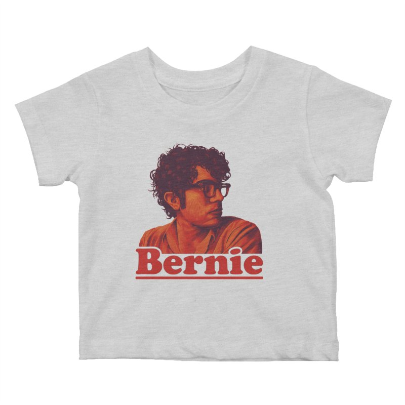 Young Bernie Kids Baby T-Shirt by Bernie Threads