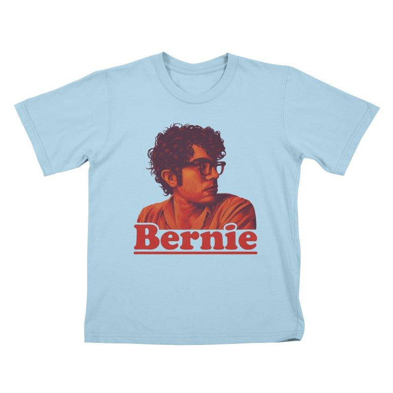 Young Bernie Kids T-Shirt by Bernie Threads