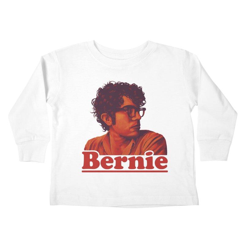 Young Bernie Kids Toddler Longsleeve T-Shirt by Bernie Threads