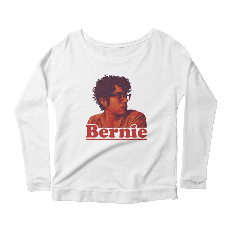 Young Bernie Women's Longsleeve Scoopneck  by Bernie Threads