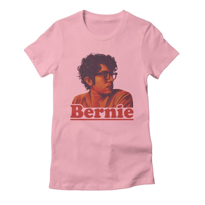 Young Bernie Women's Fitted T-Shirt by Bernie Threads