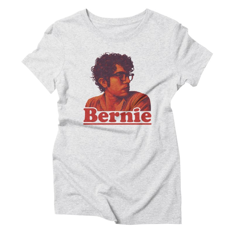 Young Bernie Women's Triblend T-Shirt by Bernie Threads