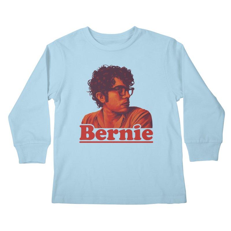 Young Bernie Kids Longsleeve T-Shirt by Bernie Threads