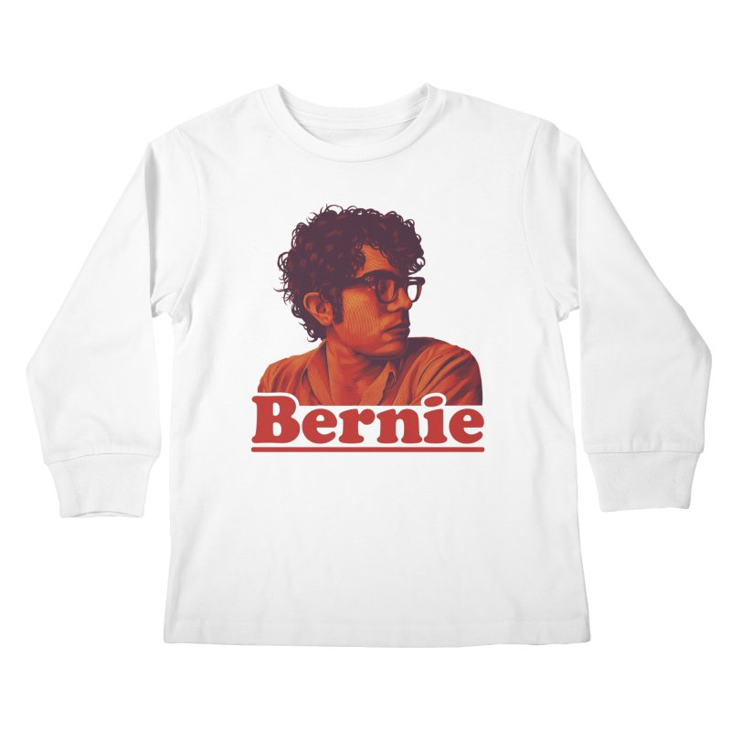 Young Bernie Kids Longsleeve T-Shirt by Bernie Threads