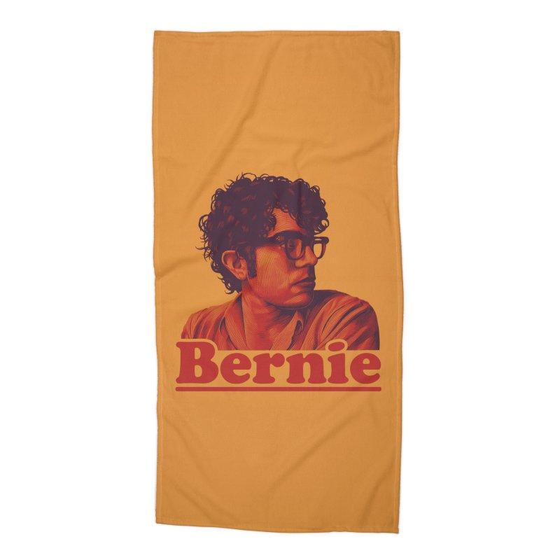 Young Bernie Accessories Beach Towel by Bernie Threads