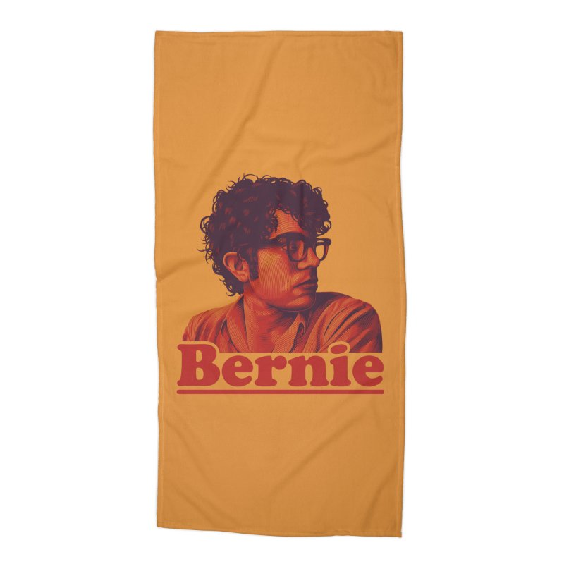 Young Bernie Accessories Beach Towel by Bernie Threads