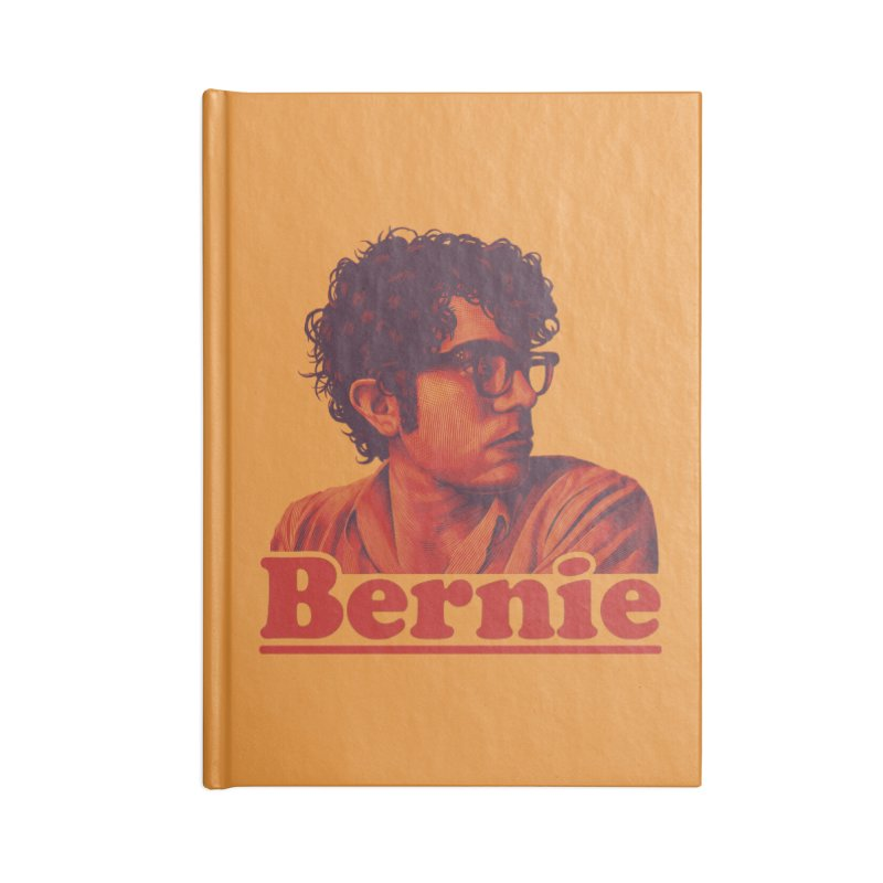 Young Bernie Accessories Lined Journal Notebook by Bernie Threads