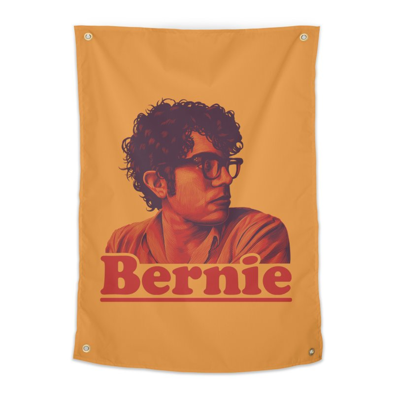 Young Bernie Home Tapestry by Bernie Threads
