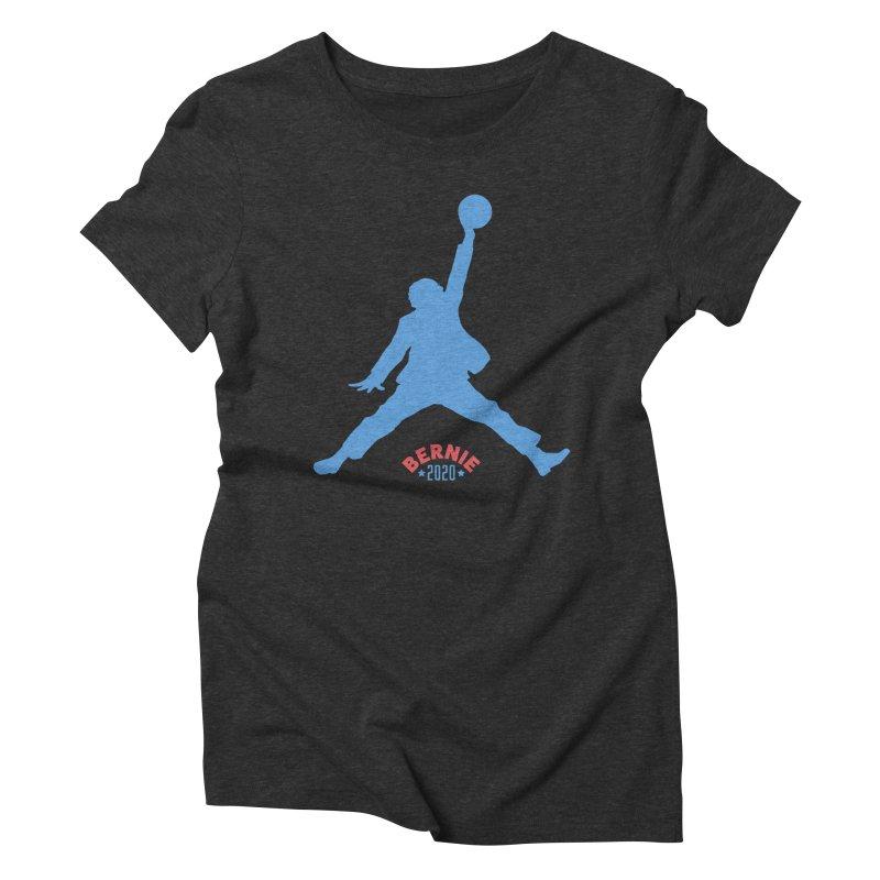 Bernie Air 2020 Women's Triblend T-Shirt by Bernie Threads