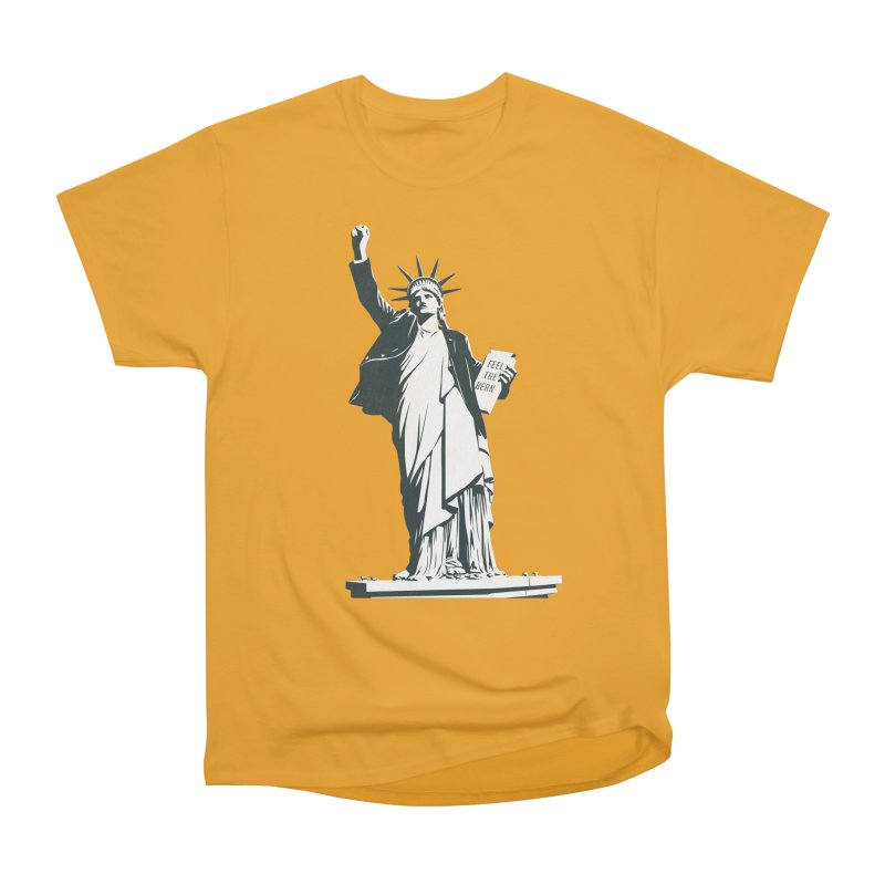 Statue of Libernie Women's Classic Unisex T-Shirt by Bernie Threads