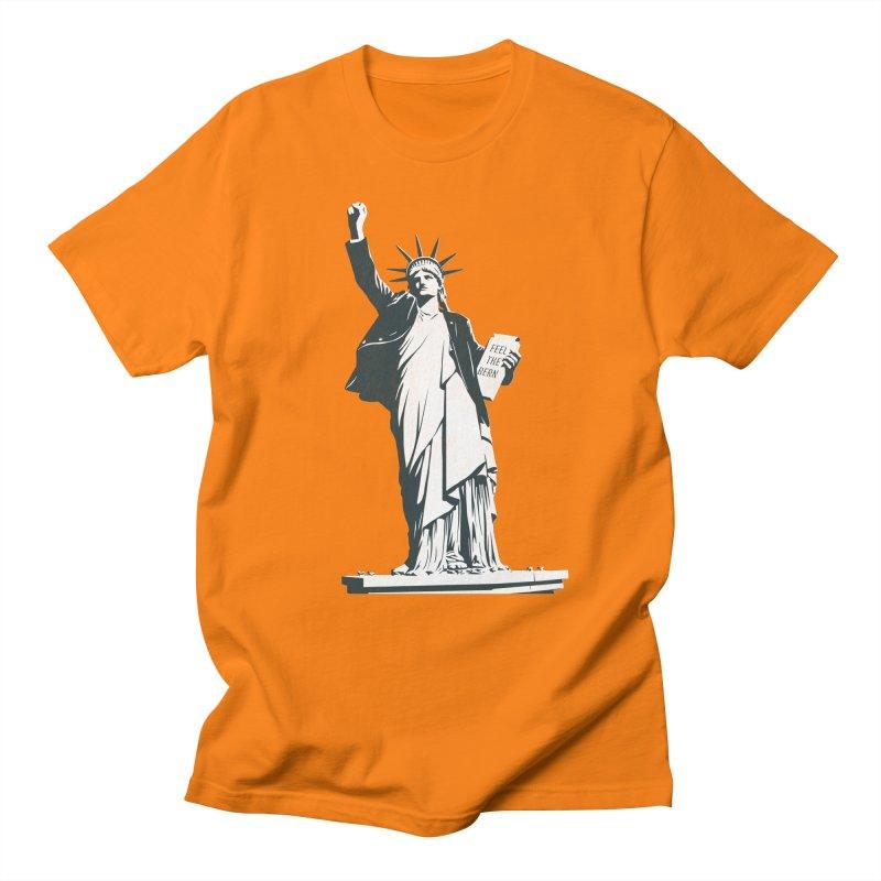 Statue of Libernie Women's Regular Unisex T-Shirt by Bernie Threads
