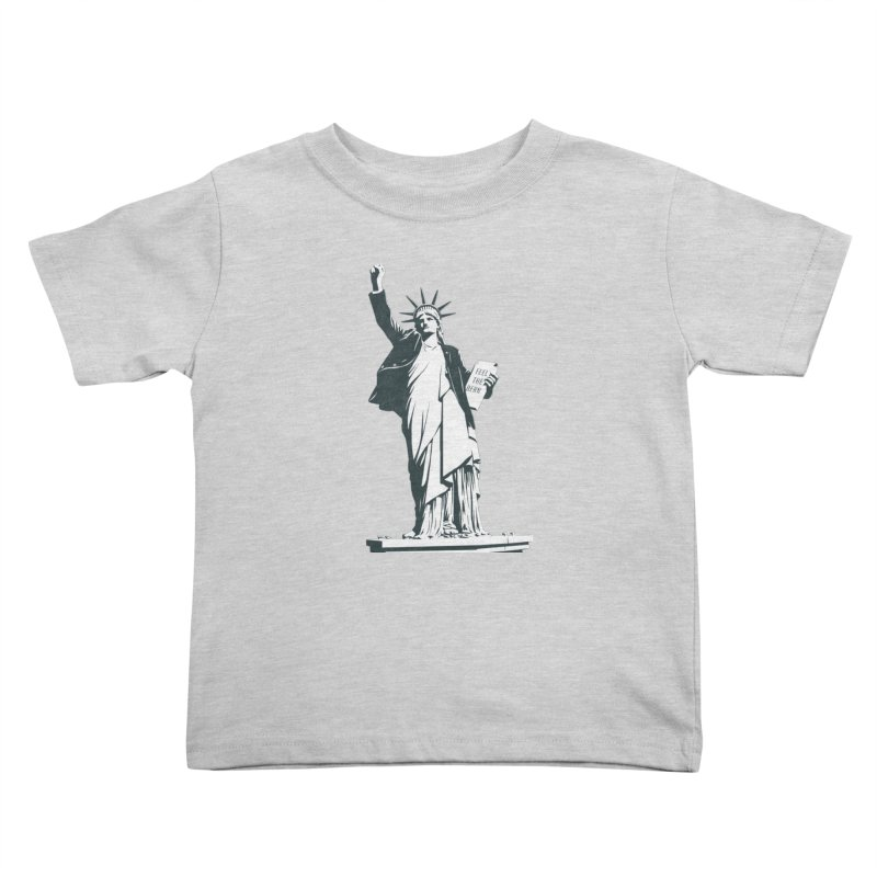 Statue of Libernie Kids Toddler T-Shirt by Bernie Threads