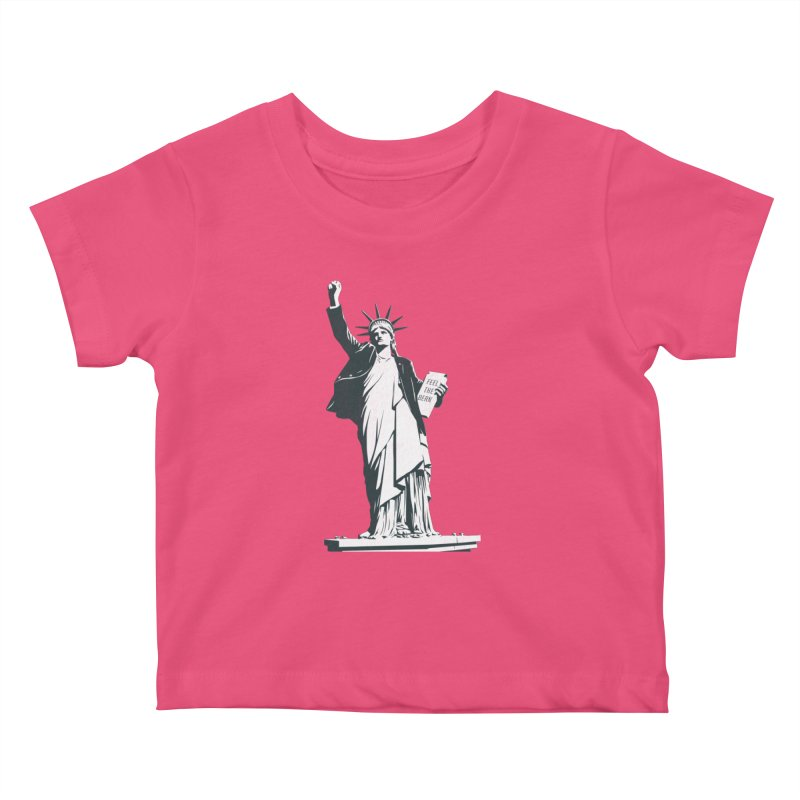 Statue of Libernie Kids Baby T-Shirt by Bernie Threads