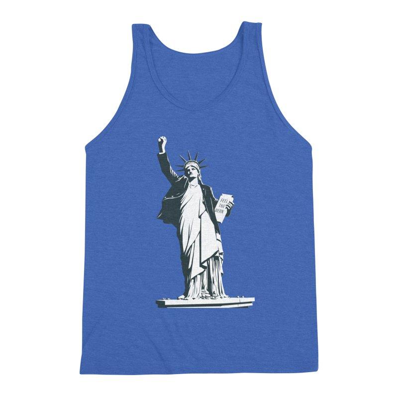 Statue of Libernie Men's Tank by Bernie Threads