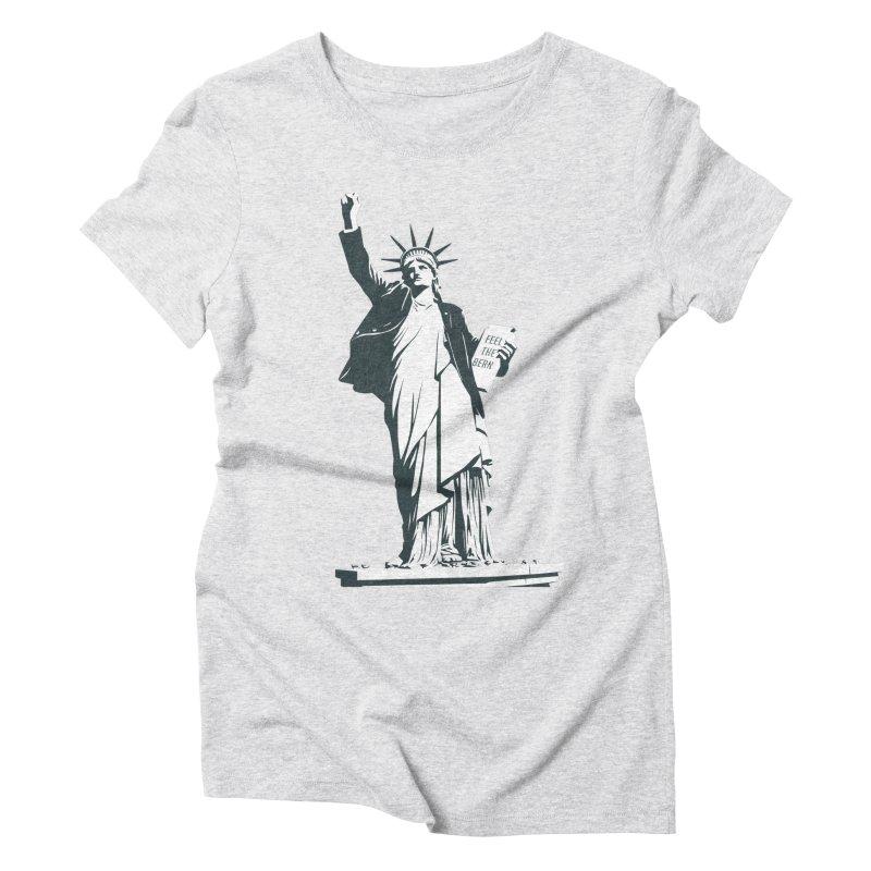 Statue of Libernie Women's  by Bernie Threads
