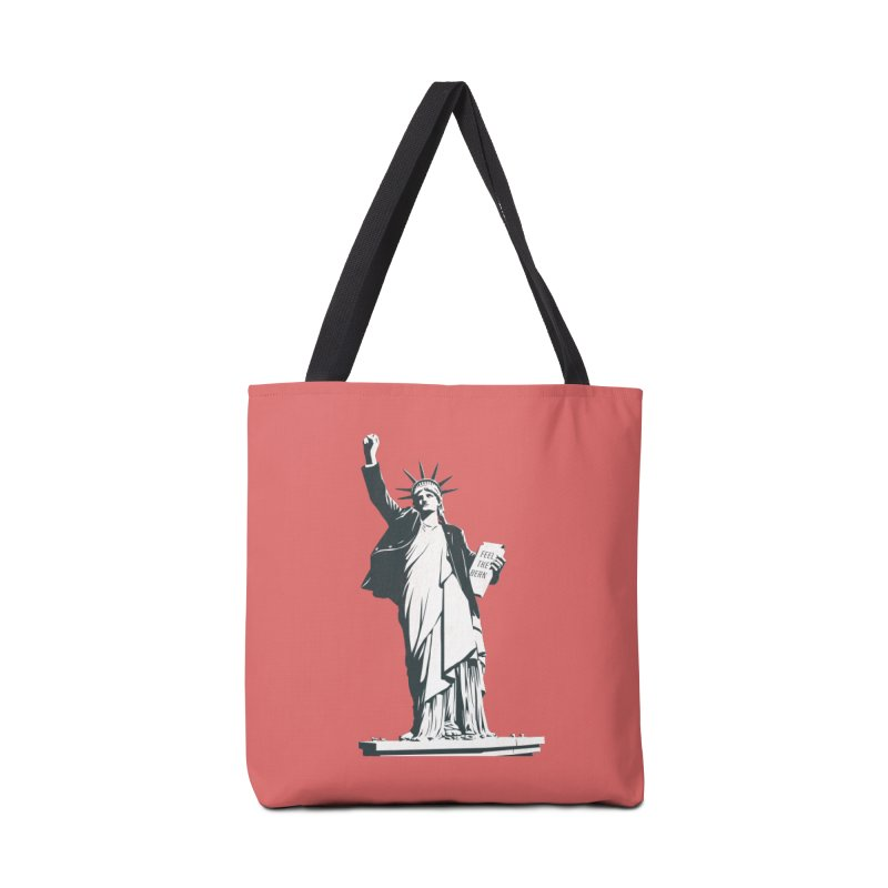 Statue of Libernie Accessories Tote Bag Bag by Bernie Threads