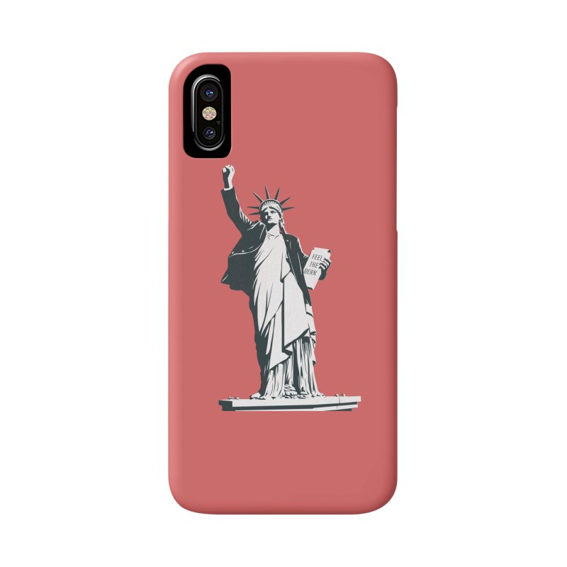 Statue of Libernie Accessories Phone Case by Bernie Threads