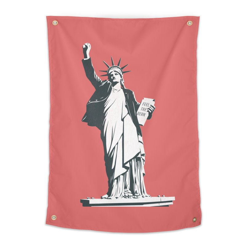 Statue of Libernie Home Tapestry by Bernie Threads