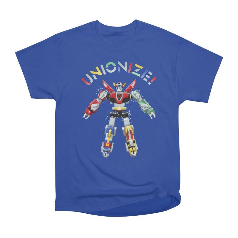 Unionize! Women's Heavyweight Unisex T-Shirt by Bernie Threads
