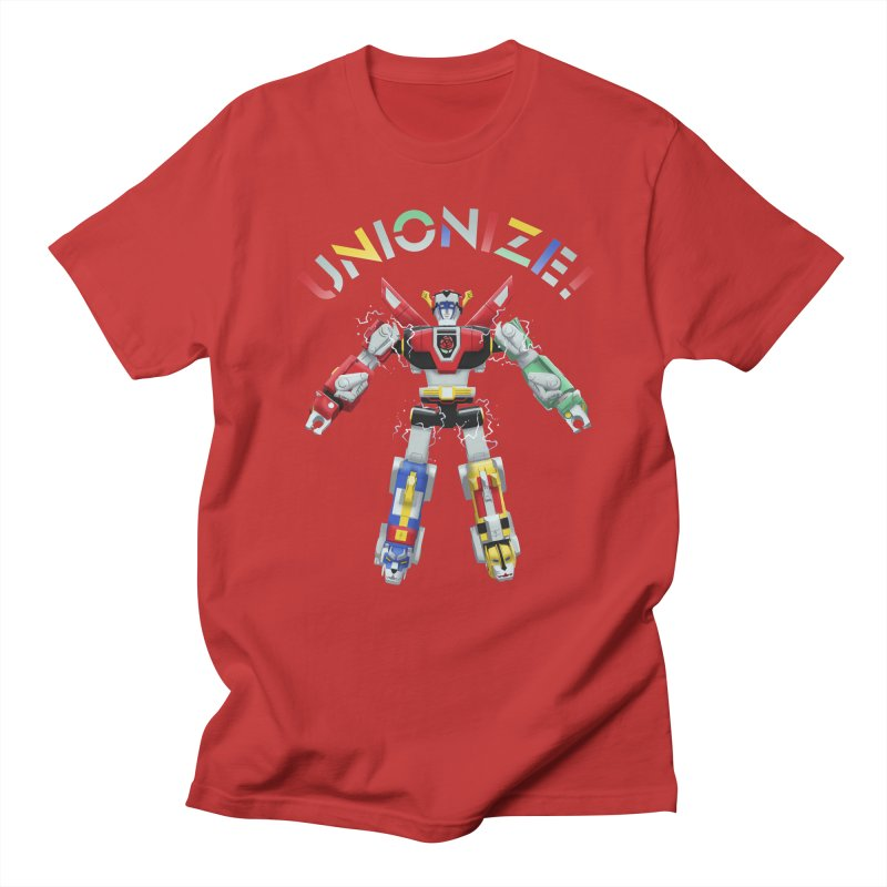 Unionize! Men's Regular T-Shirt by Bernie Threads