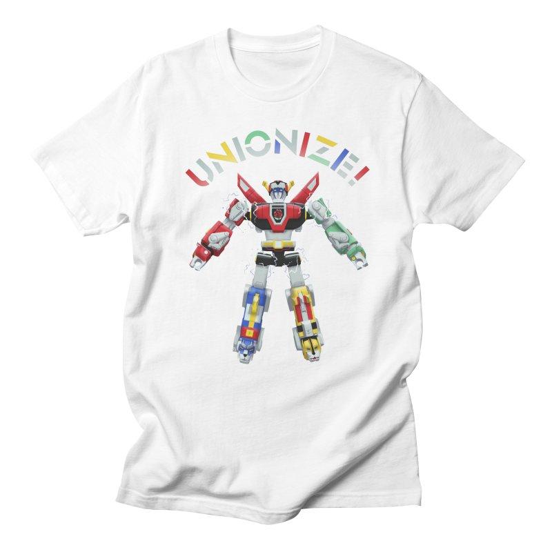 Unionize! Women's Regular Unisex T-Shirt by Bernie Threads