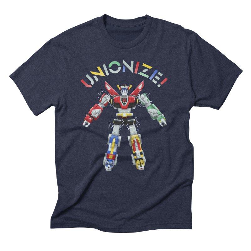Unionize! Men's Triblend T-Shirt by Bernie Threads