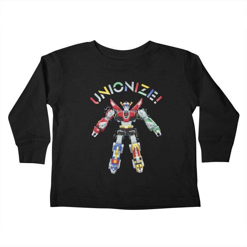 Unionize! Kids Toddler Longsleeve T-Shirt by Bernie Threads
