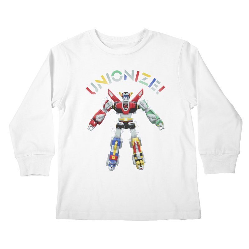 Unionize! Kids Longsleeve T-Shirt by Bernie Threads